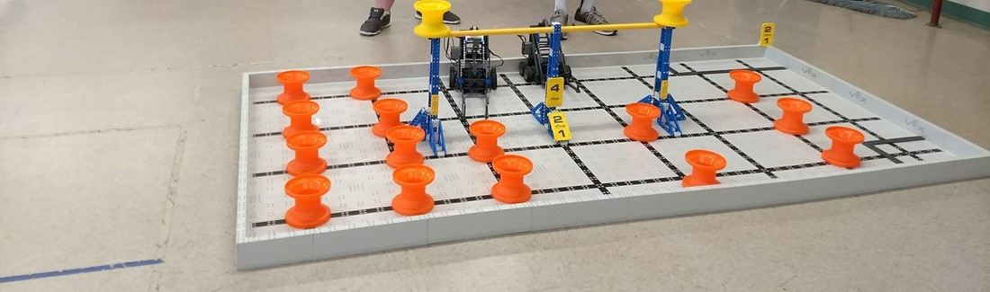 WRMS students test their skills for the VEX IQ Challenge Next Level